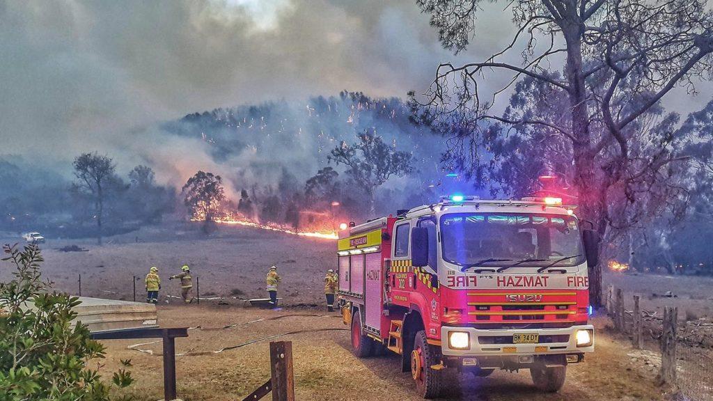 澳洲山火税局和其他部门的援助总结